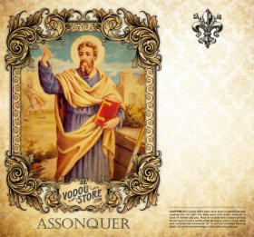 7-Day Candle Label - Assonquer