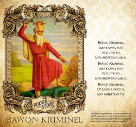 7-Day Candle Label - Bawon Kriminel