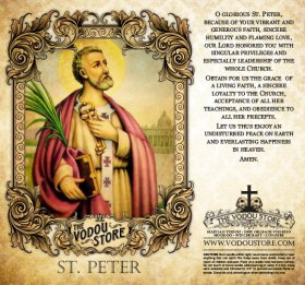 7-Day Candle Label - St. Peter