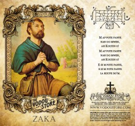 7-Day Candle Label - Zaka