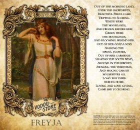 7-Day Candle Label - Freya
