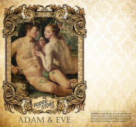 7-Day Candle Label - Adam & Eve