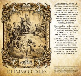 7-Day Candle Label - Di Immortales