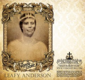 7-Day Candle Label - Leafy Anderson