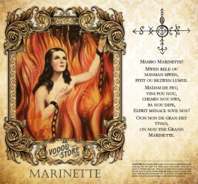 7-Day Candle Label - Marinette