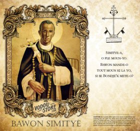 7-Day Candle Label - Bawon Simitye