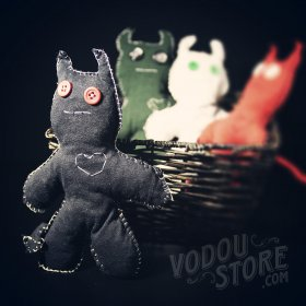 Devil Poppet/Voodoo Doll - Black