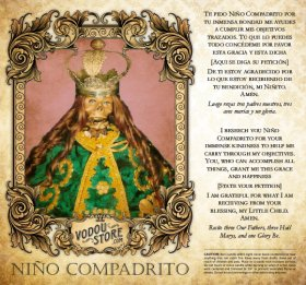 7-Day Candle Label - Niño Compadrito