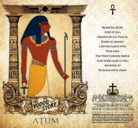 7-Day Candle Label - Atum