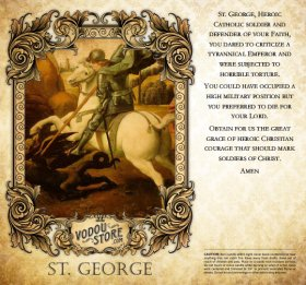 7-Day Candle Label - St. George