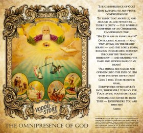 7-Day Candle Label - The Omnipresence of God