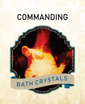 Commanding Bath Crystals