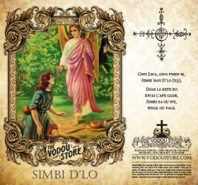 7-Day Candle Label - Simbi D'lo