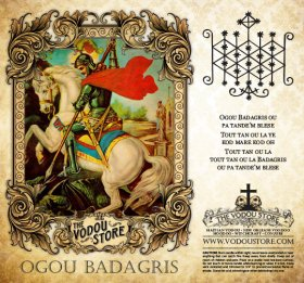 7-Day Candle Label - Ogou Badagris