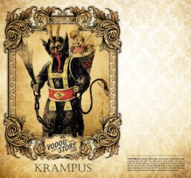 7-Day Candle Label - Krampus