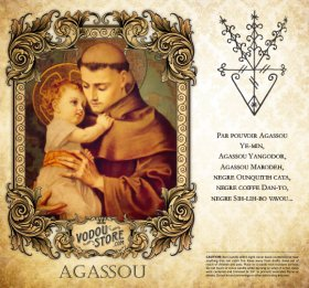 7-Day Candle Label - Agassou