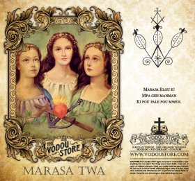 7-Day Candle Label - Marasa Twa
