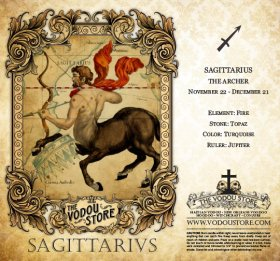 7-Day Candle Label - Sagittarius