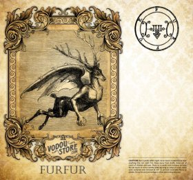 7-Day Candle Label - Furfur