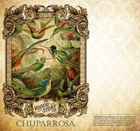 7-Day Candle Label - Chuparrosa