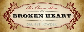 Broken Heart Sachet Powder