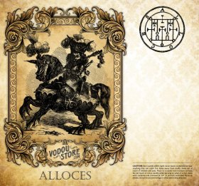 7-Day Candle Label - Alloces (Alocer)