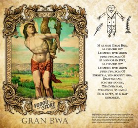 7-Day Candle Label - Gran Bwa