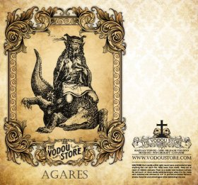 7-Day Candle Label - Agares