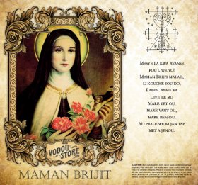 7-Day Candle Label - Maman Brijit