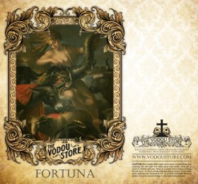 7-Day Candle Label - Fortuna