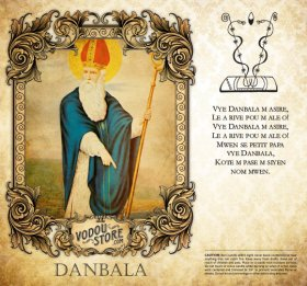 7-Day Candle Label - Danbala