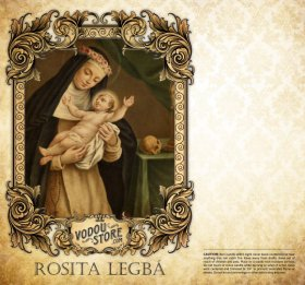 7-Day Candle Label - Rosalita Legba