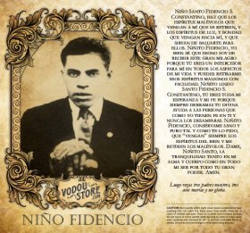 7-Day Candle Label - Niño Fidencio
