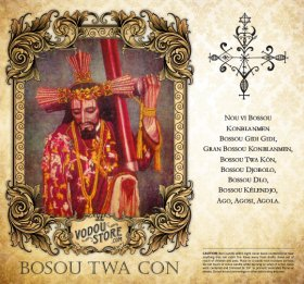7-Day Candle Label - Bosou Twa Con