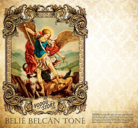 7-Day Candle Label - Belie Belcan Tone