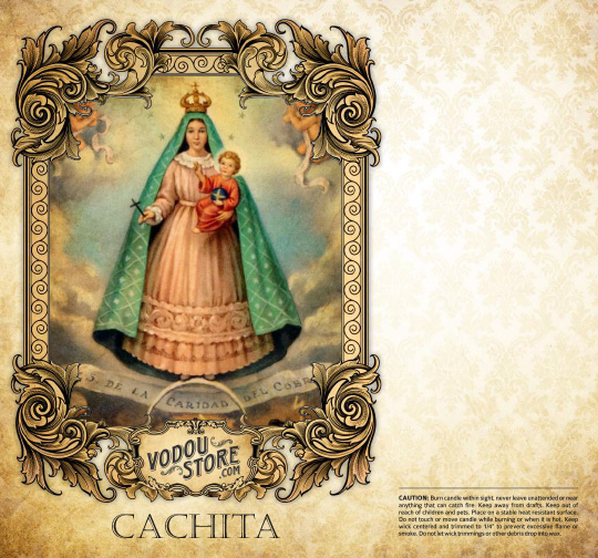 7-Day Candle Label - Cachita