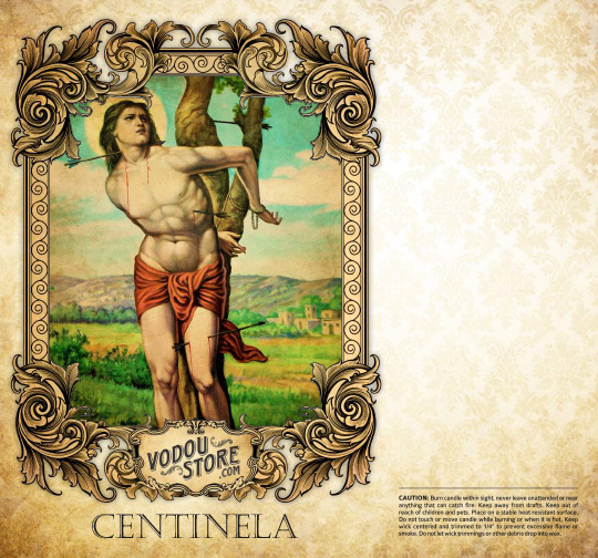 7-Day Candle Label - Centinela