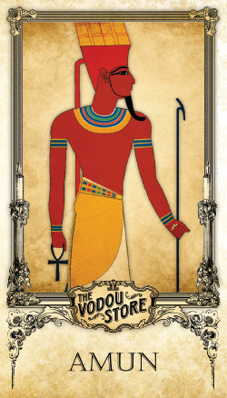 Prayer Card - Amun