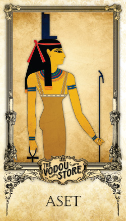 Prayer Card - Aset (Isis)