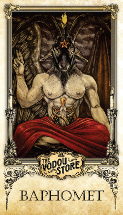 Prayer Card - Baphomet