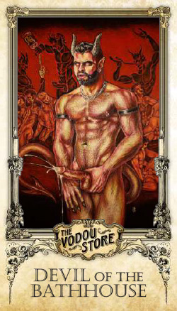 Prayer Card - Devil of the Bathhouse