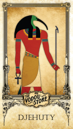Prayer Card - Djehuty (Thoth)