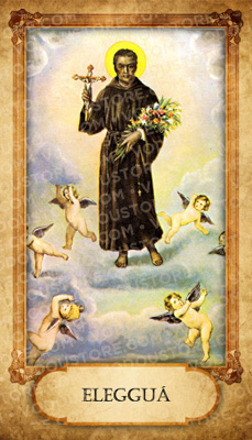 Prayer Card - Eleggua