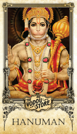 Prayer Card - Hanuman