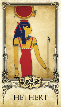 Prayer Card - Hethert (Hathor)