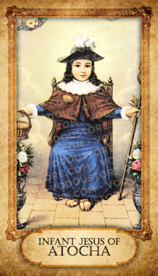 Prayer Card - Infant Child of Atocha
