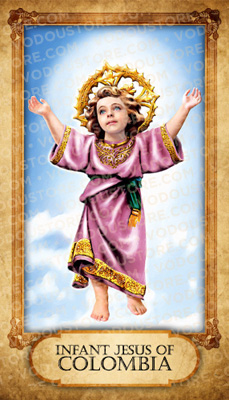 Prayer Card - Infant Child of Colombia