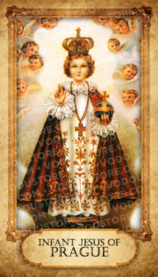 Prayer Card - Infant Child of Prague