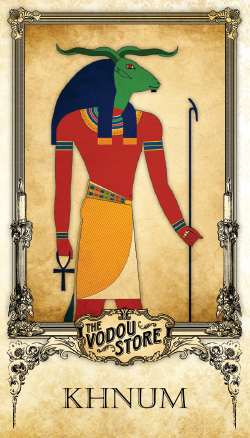 Prayer Card - Khnum