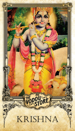 Prayer Card - Krishna